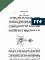 Fritz Lowenstein Capacities