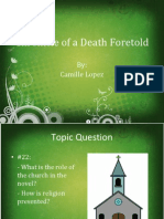 Chronicle of a Death Foretold (IOP)