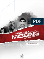 The Baloch Who is Not Missing & Others Who Are - By Mohammed Hanif