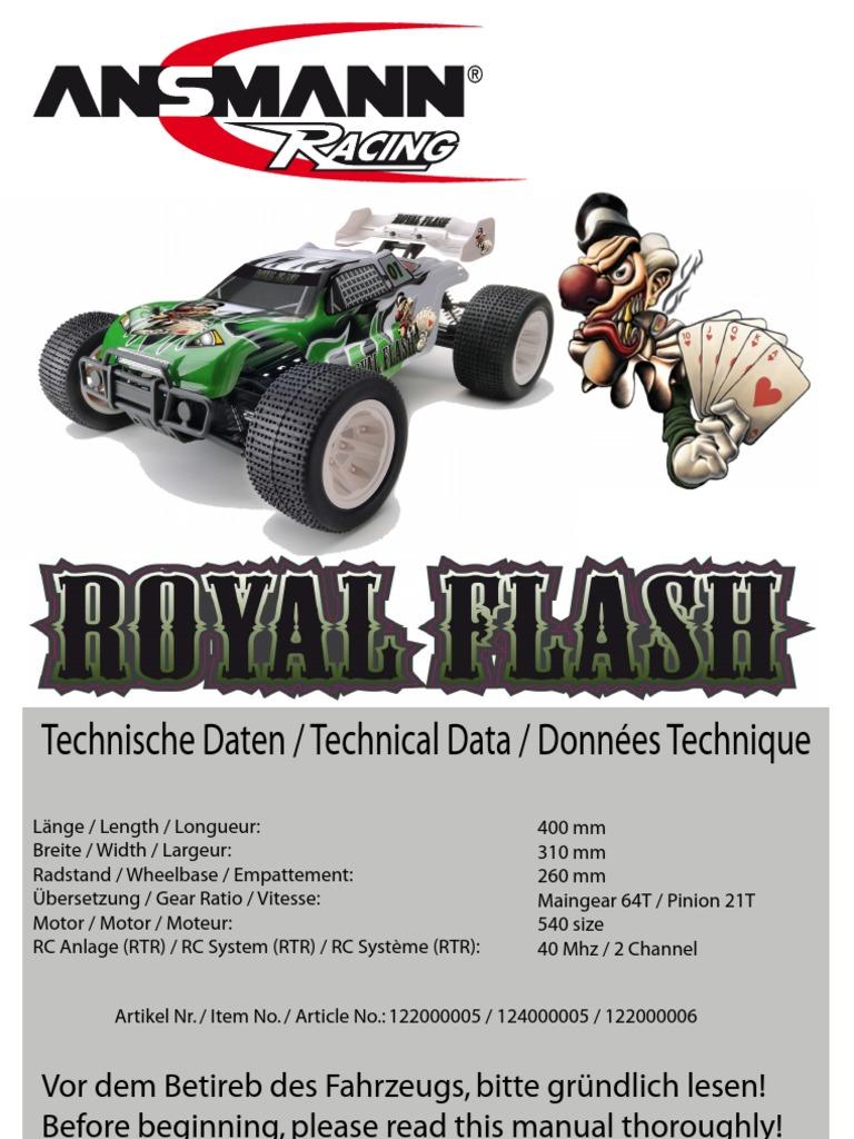 Ansmann Shock Stay Set For Royal Flash 125000254