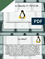SAMBA Ubuntu12 04 Slide
