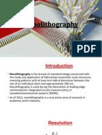 Nanolithography.pptx
