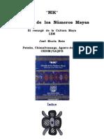 Filosofia de Los Numeros Mayas Esp