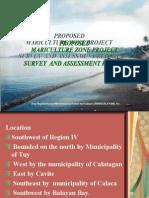 Mariculture Survey in Balayan, Batangas