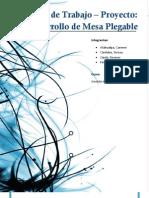 Proyecto Mesa Plegable Plan Proyecto - Grupo 4