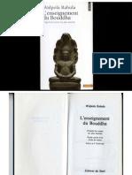 Walpola Rahula - L'Enseignement Du Bouddha d'Après Les Textes Les Plus Anciens