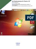 Como Cambiar Los Sonidos Predeterminados de Windows XP