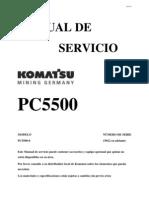 Manual Pala PC5500