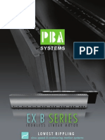 EX B Ironless Linear Motors - PBASystems.com.sg
