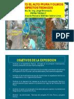 Proyecto El Alto Piura y Olmos Colegio Ingenieros Piura Nov 2010