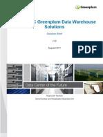 Cisco Greenplum DW Configurations Solution Brief 0831