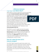 2012 FEE-HELP Brochure