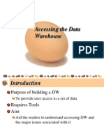 Accessing the Data warehouse.ppt