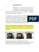 ANÁLISIS MICRO Y MACROESTRUCTURAL