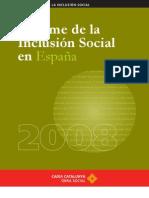 informe de la inclusión social en españa 2008