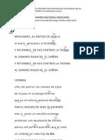 Modelo didáctico del Himno Nacional Mexicano