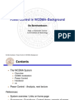 Power Control in WCDMA–Background