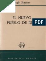 111070977 Ratzinger Joseph El Nuevo Pueblo de Dios