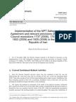 IAEA Report Iran Feb2009