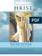 Healing Through Christ Work Book