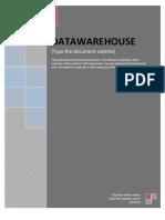 5.Data Warehouse