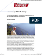 The Orthodoxy of Catholic Ecology