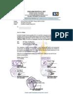 EF invitation letter for SMA