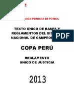 Reglamento Copa Peru 2013