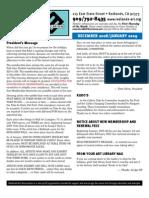 RAA Newsletter Dec Jan 2009
