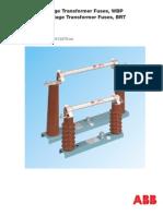 ABB High Voltage Transformer Fuses ABB WBP HV Fuses