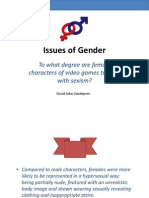 Issues of Gender - Sexism in video games Presentation