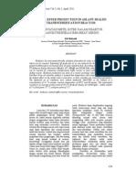 Jurnal Teknik Kimia Vol.5, No.2, April 2011