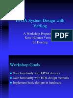 FPGA System Design With Verilog