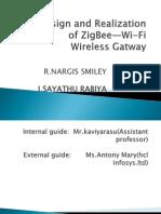 design and realization of zigbee-wifi gateway