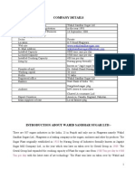 Source Finance Wahid Sandhar Sugars