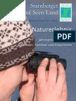 Naturerlebnis Jahresprogramm 2013