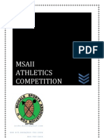 2013 Msaii Athletics Competition Report