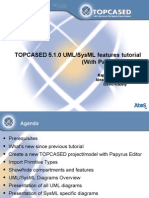 TPC 5.1.0 UML&SysML WithPapyrus Features Tutorial