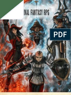 28347719 Final Fantasy Rpg | Dice | Leisure