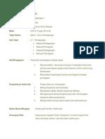 Rancangan Pengajaran Harian bantuan perniagaan