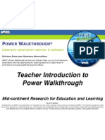 teacher introduction to pwt