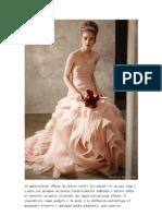10 applications iPhone  robes de mariée