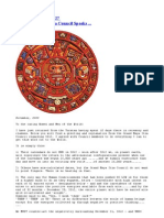 The Grand Maya Itza Council Speaks ...