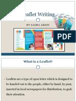 Leaflet Writing Presentation.ppt