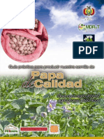 Guía práctica para producir nuestra semilla de Papa de calidad. Guía pra agricultores/agricultoras y técnicos