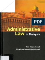 Administrative Law in Malaysia