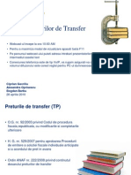 Ro Preturile de Transfer 042710
