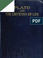 Platos Criticism of Life