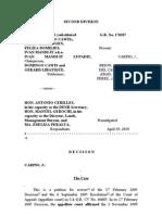 CASE-Reconstitution of Title
