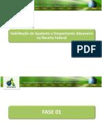Curso_fase01_Habilitação de Ajudante e Despachante Aduaneiro na Receita Federal.ppt